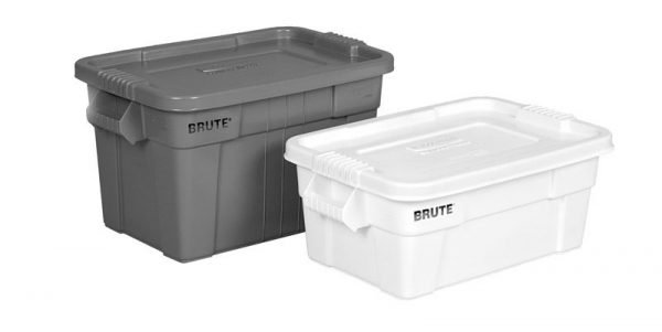 RUBBERMAID-Brute Tote With Lid