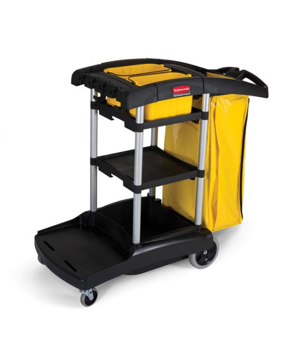 RUBBERMAID-Janitor Cart with Vinyl Bag