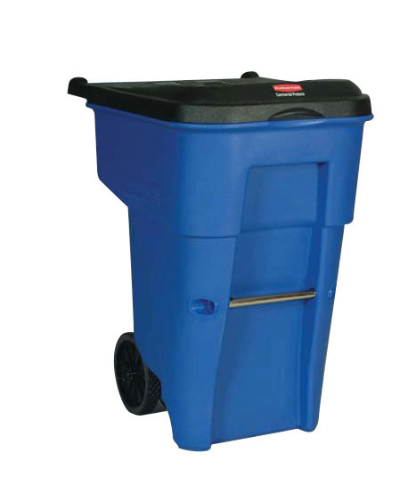 RUBBERMAID-Roll Out Brute Receptacle on Wheels