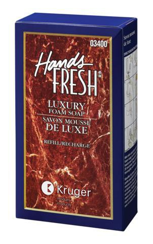 HANDS-FRESH LUXURY FOAM SOAP