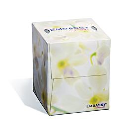 SCO - 08906 Embassy® Supreme 2-Ply Cube Facial Tissue
