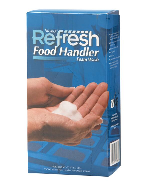 STOKO REFRESH FOAM H/SOAP