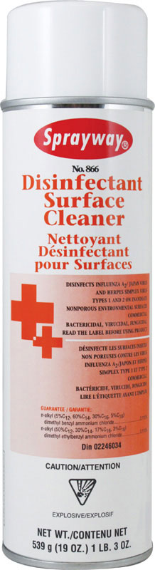 SPRAYWAY-Germicidal Surface Cleaner