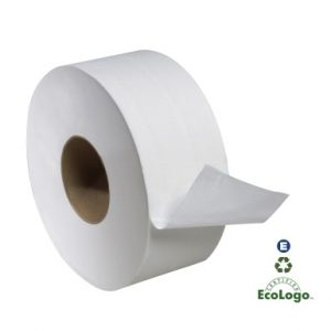 2 PLY TOILET TISSUE JUNIOR JUMBO