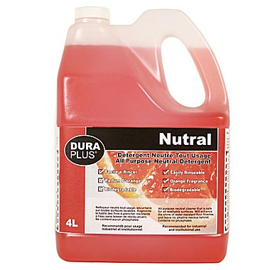 DURAPLUS-Orange Scented Neutral Detergent