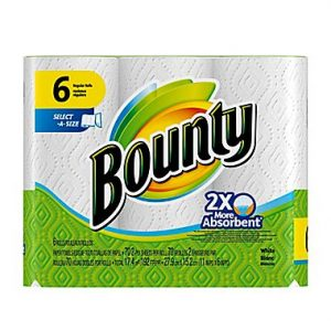 PROCTER&GAMBLE-Bounty 'Select-A-Size' Paper Towel